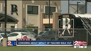 Parents fear impact of planned teacher walk out - Video