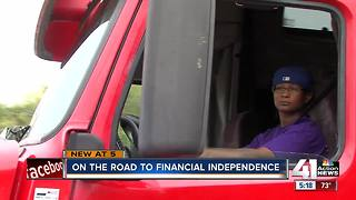 Male-dominated trucking industry heading in a new direction - Video