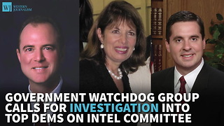 Government Watchdog Group Calls For Investigation Into Top Dems On Intel Committee - Video
