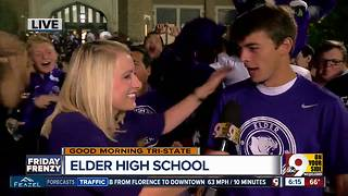 Elder High School is pumped up to play Moeller - Video