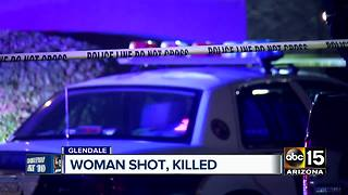Woman found dead in Glendale shooting - Video