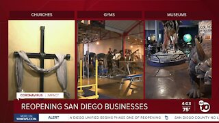 Reopening San Diego businesses