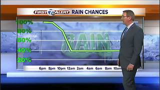 Chilly, rainy start to the weekend - Video