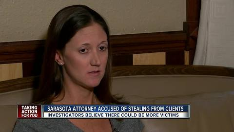 Sarasota attorney facing charges for stealing more than $215K from clients