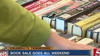 Book Sale Held To Benefit Brentwood Library - Video