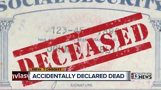 Woman accidentally declared dead - Video