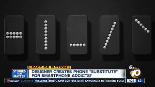 Phone substitute for smartphone addicts? - Video
