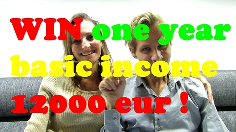 WIN one year basic income 12000 eur
