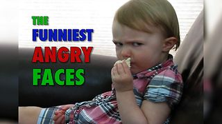 9 Funniest Angry Babies Of All Time - Video