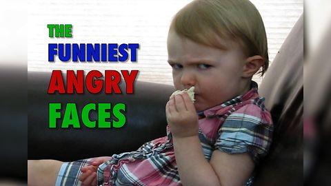 9 Funniest Angry Babies Of All Time