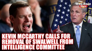 Kevin Mccarthy Calls For Removal Of Swalwell From Intelligence Committee