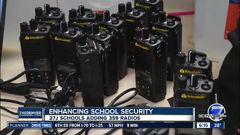 27j Schools adding 359 radios to improve security and safety