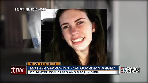 Las Vegas mother searching for daughter's guardian angel