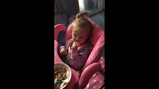 When you're hungry but sleep is calling - Video