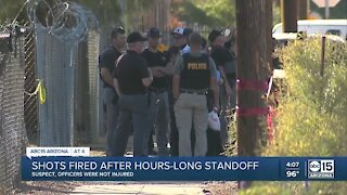 No one hurt after standoff leads to gunfire in Phoenix