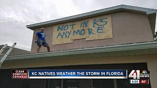 Kansas Citians stuck in Florida during Irma - Video