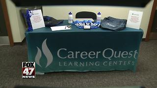 Career and education center reopens - Video