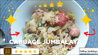 Cabbage Jambalaya - A Delicious Quick Easy Recipe