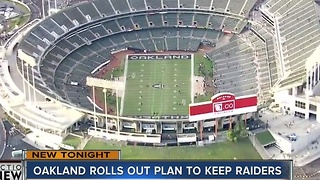 Oakland unveils plan to keep Raiders