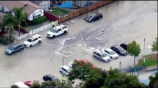 Sky10: Water main break causes flooding in North Park