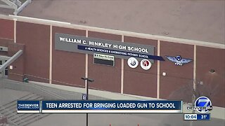 Hinkley High School student arrested, accused of bringing loaded handgun to school Thursday