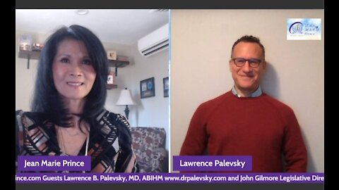 """Episode 2 Guest Dr. Lawrence Palevsky on """"Inspired Blessings with Jean Marie Prince"""""""