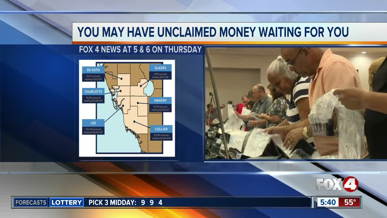 Preview: You may have unclaimed money waiting for you