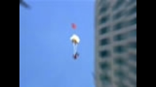 Base Jump off Mexican Skyscraper - Video