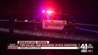KCKPD investigating homicides at 29th, State - Video