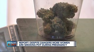 More women are using marijuana during pregnancy, report says