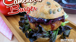 Camembert burger recipe - Video