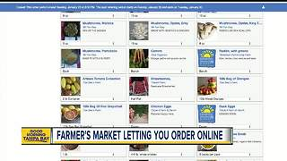 Order fresh food from St. Pete's 'Saturday Morning Market' online - Video