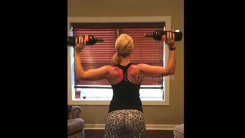 Fitness guru is back with more Friday night wine workout ideas