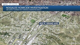 Nogales Police investigating homicide near I-19 and Grand Avenue