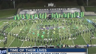Greendale High School Band to march in Macy's Thanksgiving Day Parade