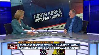 Escalating tensions between U.S. and North Korea