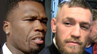 Shots Fired! 50 Cent Doesn't Think Conor McGregor Stands a Chance Against Him in a Street Fight - Video