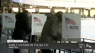 Early voting in Tulsa County