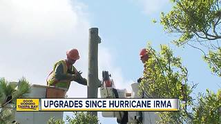 1 year since Hurricane Irma: Duke Energy continues making upgrades