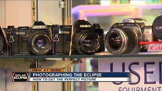 Cameras, photographers need protection to safely capture eclipse - Video