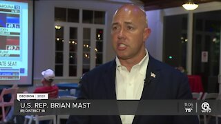 U.S. Rep. Brian Mast declares victory over Pam Keith for District 18 seat