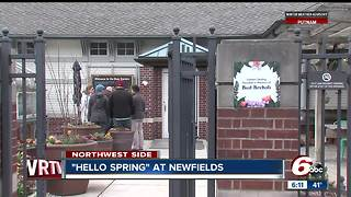 Hello Spring Event open at Newfields - Video