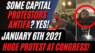 Some Washington Capital Protestors ARE ANTIFA Disguised as Trump Supporters!! Kyle Becker Reports