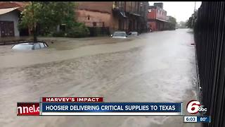 Former Danville Police Chief delivers supplies to Hurricane Harvey victims - Video