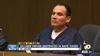Former Uber driver sentenced in rape case - Video