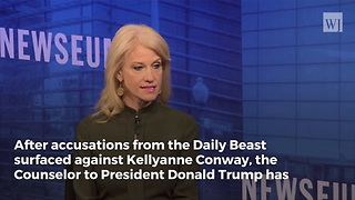 "Kellyanne Conway Destroys Trump-Moore Conspiracy, ""This is False"" - Video"