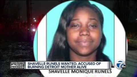 Detroit's Most Wanted: Shavelle Runels wanted for brutal murder of Detroit mom