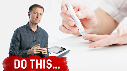 At the 1st Sign of Diabetes, Do This...