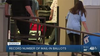 Record number of mail-in ballots
