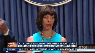 Mayor Catherine Pugh and new city solicitor share support of dreamers - Video